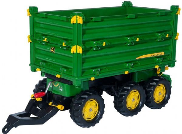 Image of   Rolly Multi Trailer John Deere - Rolly Toys 125043