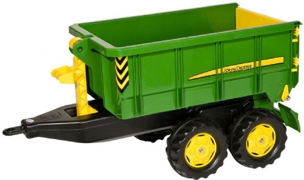 Image of Rolly Container Trailer John Deere - Rolly Toys 125098 (52-125098)