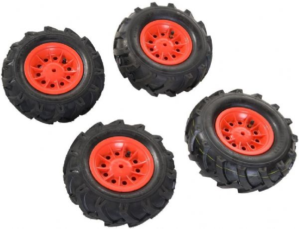 Image of   Rolly lufthjul Farmtrac Premium 4 stk - Rolly Toys 409587