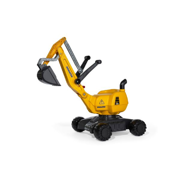 Image of   Rolly Digger Komatsu gul - Rolly Toys 421169