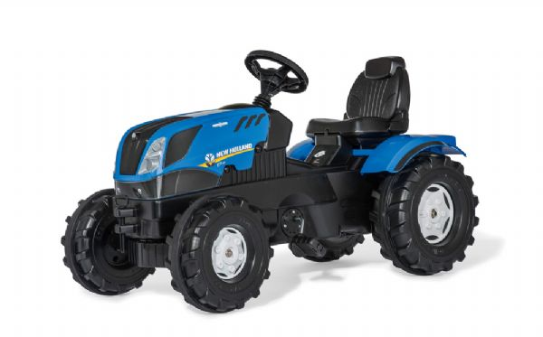 Image of Rollyfarmtrac New Holland - Rolly toys pedaltraktor 601295 (52-601295)