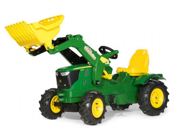 Image of   RollyFarmtrac John Deere 6210R m/luftdæk - Rolly Toys 611102