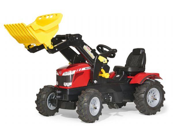 Image of   RollyFarmtrac MF 8650 m/lufthjul - Rolly Toys 611140