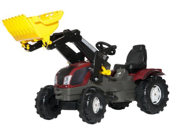 Image of   rollyFarmtrac Valtra T 163 m. frontskovl - Rolly Toys 611157
