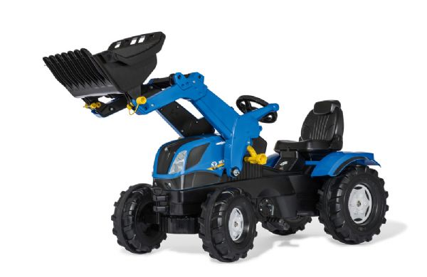 Image of   Rollyfarmtrac New Holland - Rolly toys pedaltraktor 611256
