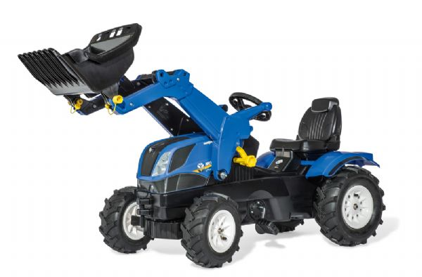 Image of   Rollyfarmtrac New Holland - Rolly Toys pedaltraktor 611270