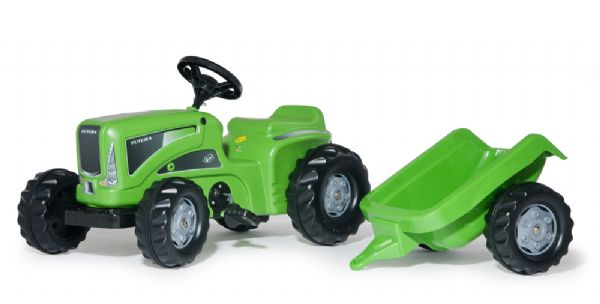 Image of   rollyKiddy Futura plus trailer - Rolly Toys traktor 620005