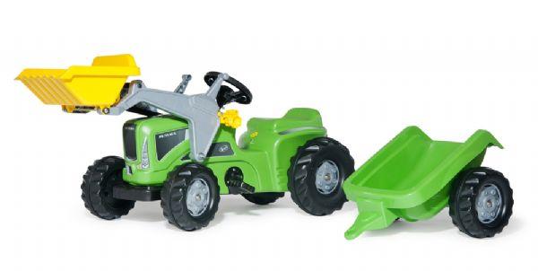 Image of   rollyKiddy Lader, rollyKiddy Trailer - Rolly toys traktor 630035