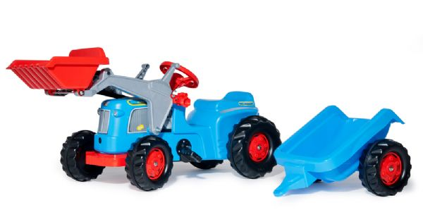 Image of   rollyKiddy Classic m/frontlæsser, blå - Rolly Toys 630042