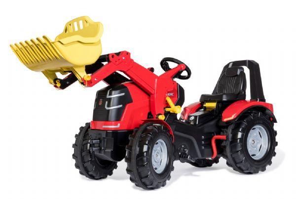 rolly toys – X-trac premium rød traktor m. gear - rolly toys 651016 fra eurotoys