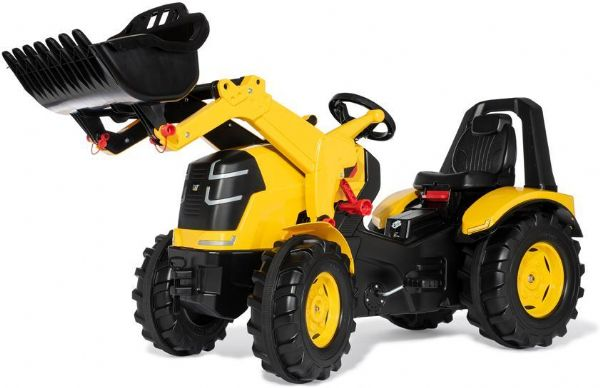 Image of   Rolly X-trac Premium Cat gul - Rolly Toys 651115