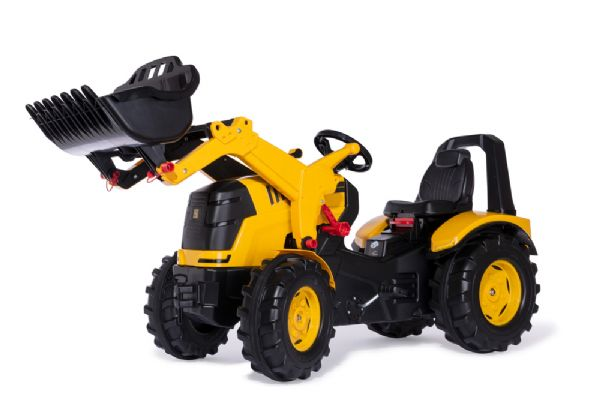 Image of rollyX-Trac Premium JCB m/frontlæsser - Rolly Toys premium 651139 (52-651139)