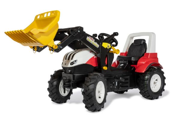 Image of   rollyFarmtrac Steyr 6300 Terrus CVT luft - Rolly Toys premium 710065