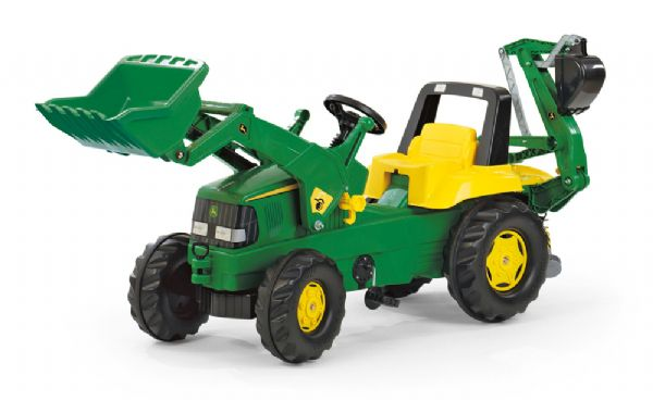Image of   Rolly Junior John Deere Traktor - Rolly Toys 811076