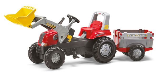 Image of   Rolly Junior Traktor m. frontskovl - Rolly Toys 811397