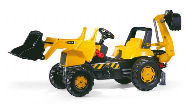 Image of   Rolly Junior JCB Traktor - Rolly Toys 812004