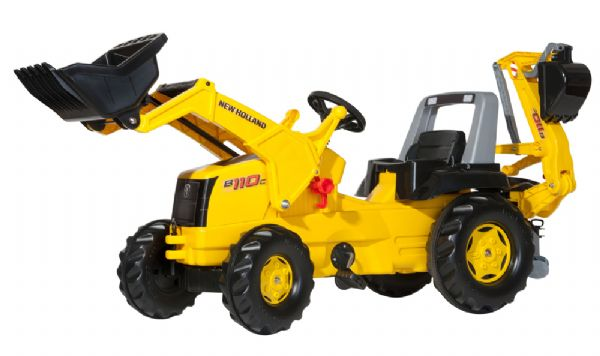 rolly toys – Rollyjunior new holland construction - rolly toys 813117 fra eurotoys