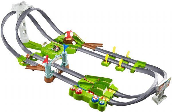 Image of Hot Wheels Super Mario Kart Circuit - Hot Wheels racerbane GCP27 (54-0GCP27)