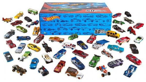Image of Hot Wheels 50 Basic Diecast Biler - Hot Wheels biler Diecast V6697 (54-0V6697)