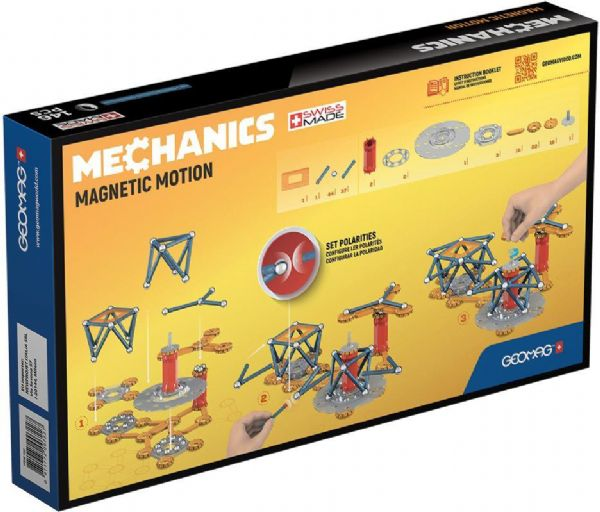 Image of   Geomag Mechanics Magnetic motion 146 del - Geomag magneter 007623