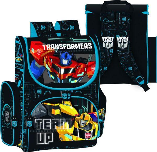 Image of Transformers Skoletaske - Transformers skole taske 750381 (74-0750381)