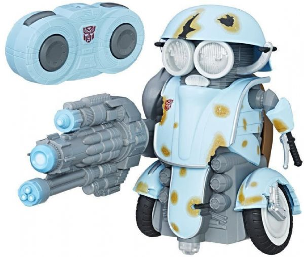 Image of Autobot Sqweeks RC robot - Transformers fjernstyret bil C0935 (74-0C0935)
