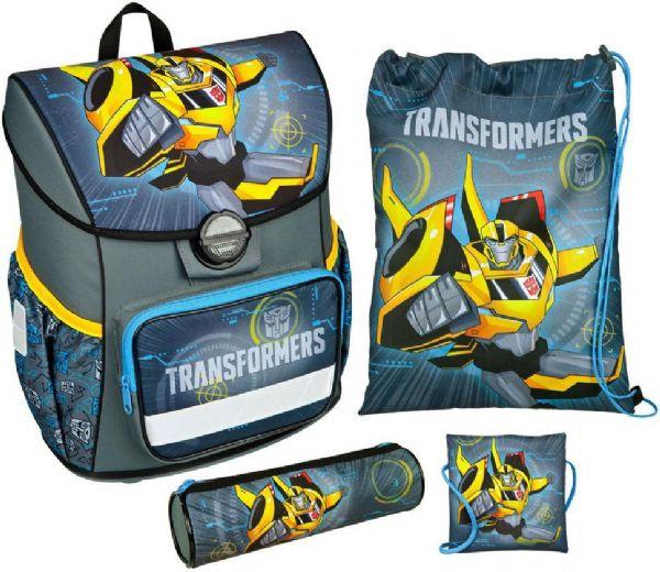 Image of   Transformers Skoletaske sæt 4 dele - Transformers Skoletaske 276494