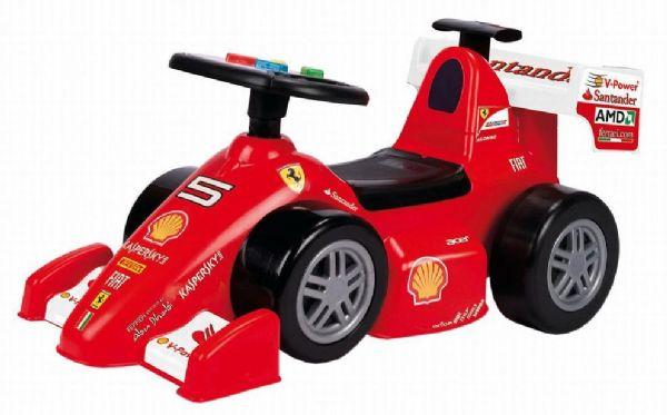 feber Ferrari 1 gåbil - feber gå bil 0706076 fra eurotoys