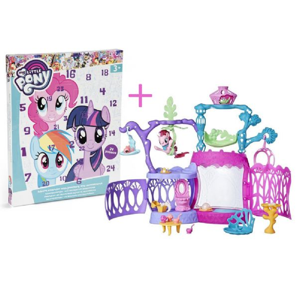 Image of   My Little Pony julekalender + Playset - My Little Pony julekalender 63493X