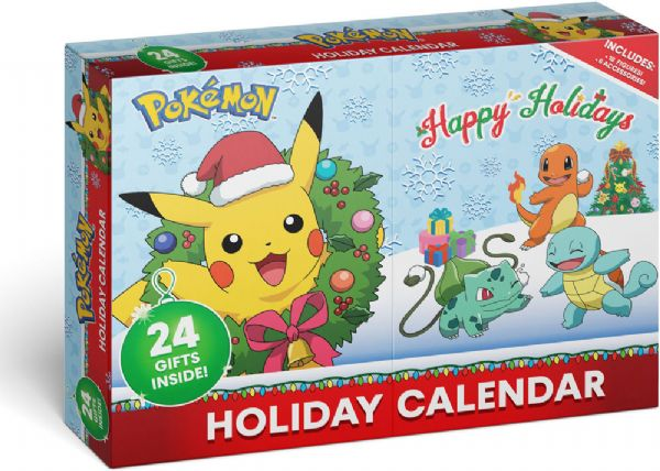 Image of Pokemon Julekalender 2020 - Pokemon pakkekalender 370107 (88-370107)