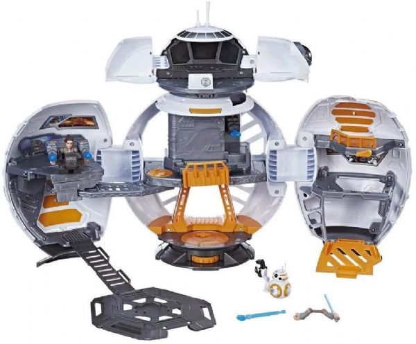Image of Star Wars BB-8 Adventure Base 2 i 1 - Disney Galactic Heroes playset C0728 (92-0C0728)