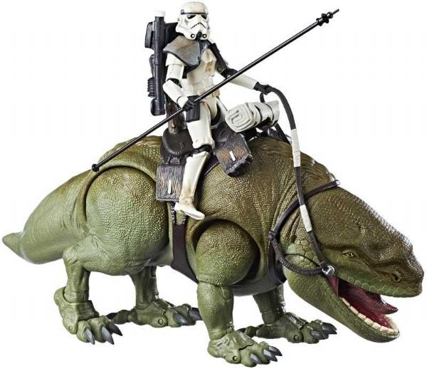 Image of Star Wars Dewback og Sandtrooper figur - Star Wars The Black Series figurer E0333 (92-0E0333)