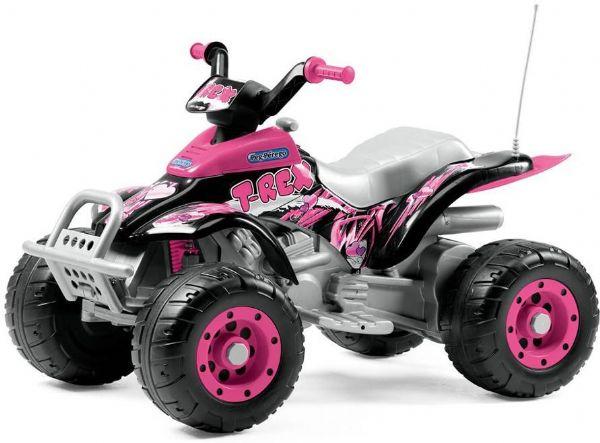 Image of   Peg Perego Corral T-Rex 12V Pink - Peg-Perego Elbiler IGOR0073