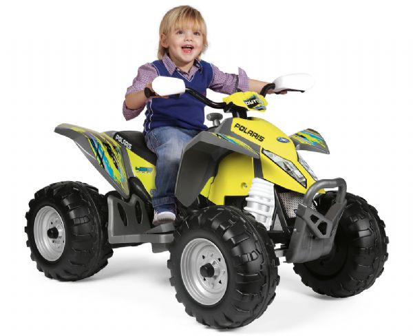 Image of   Peg Perego Polaris Outlaw Citrus - Peg-Pérego elbil 000090