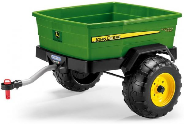 Image of   Peg Perego JD Adventure trailer - Peg-Pérego John Deere trailer TR0939