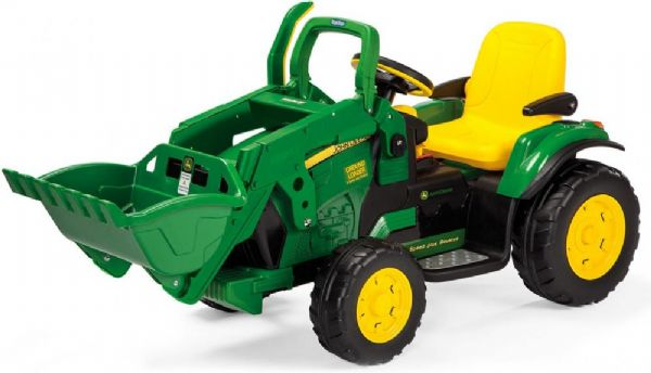 Image of Peg Perego JD Ground Loader 12V - Peg-Pérego John Deere elbil 2131 (94-002131)