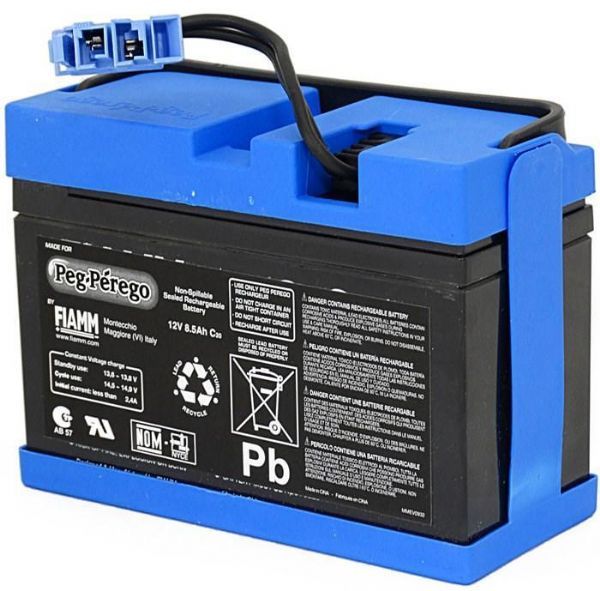 Image of   12V - 8Ah batteri Peg Perego - Peg-Pérego tilbehør 362570