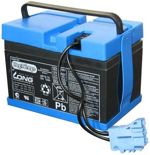 Image of   12V - 12Ah batteri Peg Perego - Peg-Pérego tilbehør 362594