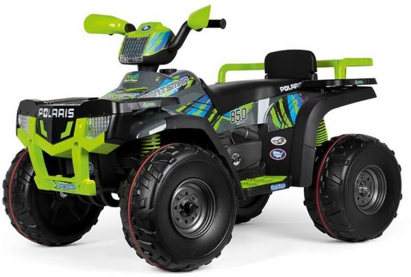 Image of   Peg Perego Polaris Sportsman 850 - 24V - Peg-Pérego elbil 850 Lime OD05330