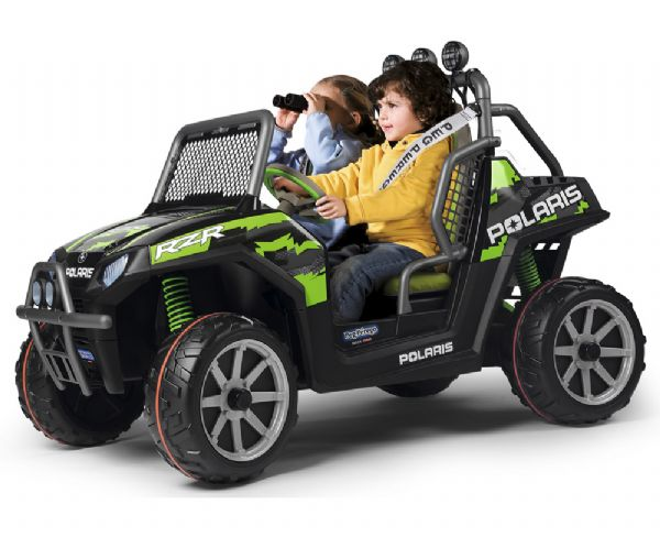 Image of Polaris Ranger RZR Green Shadow 24V - Peg-Pérego elbil 393840 (94-393840)
